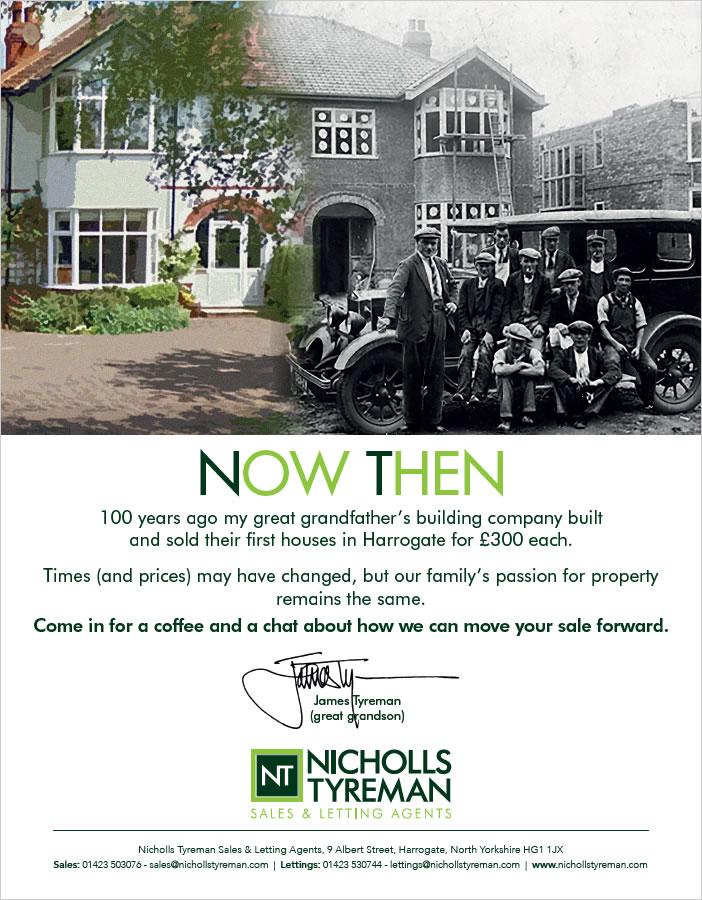 Nicholls Tyreman Advert